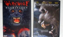 2 DVD Werewolf of Washington & Tomb of the Werewolf 1. Werewolf of Washington by Alpha Video 2003 2. Tomb of the Werewolf by Retromedia 2003 Asking $20