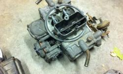2 holley carburetors for sale 4 barrel, $15,  cfm unkown, call 519-330-3275 or email jay.evers1 @ hotmail.com