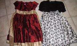 Each dress is for $5.00. Both in excellent condition.