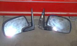 2 gmc full size mirrors