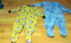 I have 2 Like New Sleepers Size 3 Fleece Cotton, etc. for sale! These are in excellent condition and would look great in your child's room or to give as a gift. Comes from a non-smoking household. Do not miss out on this excellent opportunity to get this