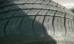 A Pair of Michelin Harmony Tires Good Shape