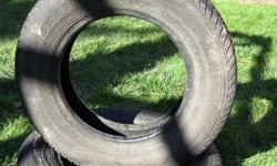2 Motormaster AW Tires - All season Size - P155/80R13 79S Tread depth - minimum 9/32 NDS Almost new tires! Will remove ad when tires are sold