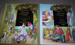 Both books if for this price. In excellent condition. No pieces of the puzzles are missing.