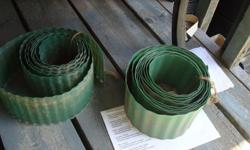 I have 2 Rolls of Green Garden Edging! This is in excellent condition and would look great in your home or to give as a gift. Comes from a non-smoking household. Do not miss out on this excellent opportunity to get this for a fraction of the cost! For