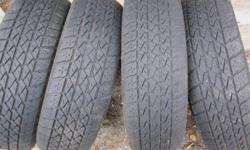 Nordic winter tires 175 70 13, and Hallmark Premium summer tires 185 75 13, both sets together $150.00 firm.