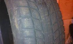 2 triangle snow tires 2 years old $50 or best offer! 195/60R15 This ad was posted with the Kijiji Classifieds app.