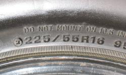 Rims fit 2004 - 2007 Cadillac CTS , exellent tread