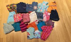 2T GIRL - 20 PIECE COLLECTION $25 Name brand items (Gymboree, Baby Gap, Children's Place, John Lewis). Everything in excellent condition from smoke-free home. Clothes always washed in scent-free detergent. Collection includes: Dresses x 4 (includes a John