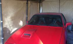 Make Porsche Colour Red/Black Trans Manual 2 Porsche 924 's for sale Red used to start (now has shot wire to fuel pump - suspect) and black is donor car Lots of original Porsche accessories Lots of work done; new tires, belts, electrical, ETC Spare set of