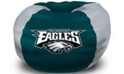 "-102 "" ROUND-FULLY LICENSED BY THE NFL-SHELL ONLY-WALMART CARRIES THE BAGS OF FILL-GREAT GIFT IDEA FOR ANY EAGLES FAN-EXCELLENT FOR ANY DEN,GAMES ROOM OR MAN CAVE.-OTHER TEAMS AVAILABLE."