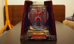 """Marvel Legends Titanium Series- MagnetoSize: 6.5"""" (Including plastic case)New in box with seal"""