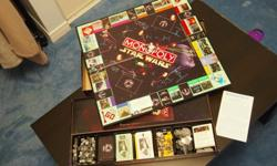 Monopoly - Star Wars 20 Years Collector's Edition w/number - 011597/7986Opened box - Excellent condition