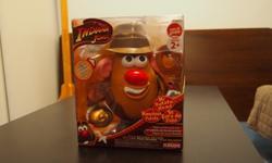"Mr. Potato Head - Indiana Jones Edition w/Music Button Size: 9""HNew in box"