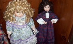 $30 for 18-24 inch dolls.......$50 for large victorian dolls