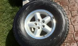 I have 4 Yokohama Geolander H/T-S tires for sale, 31x10.50R15 from a Jeep Wrangler TJ.  Standard 5 bolt pattern. Checkout the manufactures website: http://www.yokohamatire.com/tires/detail/geolandar_h_t_s I paid over $1,250 to install these tires on those