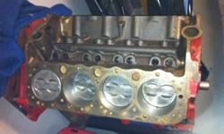 327 Chevy short block. Removed from 32 Ford hot rod. Oiled and stored for the last twenty years. Ran well while it was in the car. Was removed and replaced with a race spec 355 when the car was converted for drag racing. This ad was posted with the Kijiji