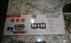"""Unopened 32""""+ low-profile TV wall mount. Rated up to 165 lbs. Shoot me a text or email me and we can discuss."""