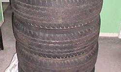 MUST GO SET OF FOUR FIRESTONE DESTINATION ALL SEASON TIRES, P235 65 R16, ONE YEAR OR SO LEFT ON THESE TIRES, NO ROOM FOR THEM AND MUST SELL CHEAP......$40.00 FOR THE SET!
