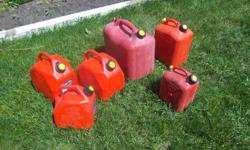Jerry cans (gas cans) for sale. 23 L $12 each (SOLD) 10 L $10 each 5 L $ 5 each We are located in Orleans. See our list of other items for sale. First come, first served.