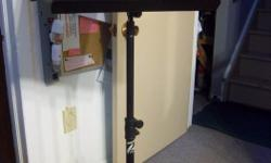 """""""Profile"""" sheet music stand for sale. Height is adjustable. Only $40. We are located in Orleans. See our list of other items for sale. First come, first served."""