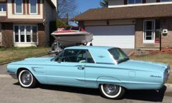 Make Ford Model Thunderbird Year 1965 Colour BABY BLUE kms 82000 Trans Automatic 1965 FORD THUNDERBIRD (RESTORED) BEAUTIFUL (MUST SEE!!!) -Appraised at over $20,000 -390 V8 motor rebuilt (ONLY!! 2,000 km on the motor) -Transmission rebuilt last year