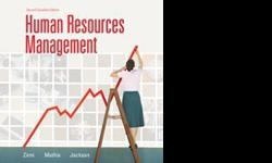 - Human Resources Management- 2nd Canadian Edition By Zinni, Mathis, Jackson.-McMaster Code- 2BC3- Human resources and Labor Relations- Mint Condition- No Highlighting or Writing