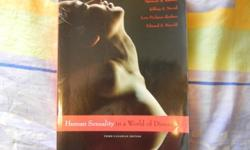 PSY 3122 - Human Sexual BehaviourHuman Sexuality in a World of DiversitySpencer A. Rathus, Jeffrey S. Nevid, Lois Fichner-Rathus, Edward S. Herold3rd Canadian EditionPublished by Pearson EducationToronto, Canada 2010-Excellent condition-Will sell for 35$