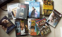 Bag full of used dvds - assorted types - 36 for $15, List available.