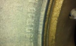 4 tires good tread. 2 have 11/32 and 2 have 13/32. New is 18 looking for 850obo This ad was posted with the Kijiji Classifieds app.