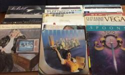 38 lp's for sale, artists include Joni Mitchell, Santana, Paul Simon, James Taylor, Paul McCartney, Stevie Winwood, Fleetwood Mac, Supertramp. All VG condition at a minimum, some VG+ Pick up only please.