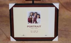 Dimensions: 16 x 20 in (41 x 51 cm) Color: Outside - Black. Inside - Brown Picture frame is brand new and in the original packaging. Simply no need for the frame anymore. Asking $25 for the frame Contact Nick Thanks