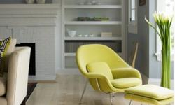 brand new, never used authentic Knoll womb chair in SIZE MED. to sell. The colour is chartreuse as shown below. Knoll certificate comes with it.I bring this up only because it's a fantastic deal! The best I've ever been able to get this at is about $4750