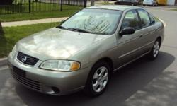2003 Nissan Sentra xe223,000kmAutomaic transmissionManule windows4cyclinderbrand new tires.a/cam/fm / cd playerAsking 3000 as is or best offerContact : Hussein 416-836-9659