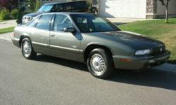 1996 Buick Regal.111,066 kms Grandma was original owner - 54,000 kms in 13 years!!! Balance of kilometres is mostly hwy driving. Fully loaded custom edition, V6 Engine, leather seats, AC, AM/FM radio/ cassette/ CD player, power locks windows and seats,