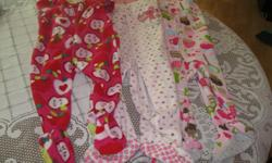 3 GIrls - 1piece PJS Size 12-18m(18) Brands - Carter / Joe / Childrens Place No rips / stains Get ALL 3 for ONLY $10 (works out to be $3.33 each) Can meet in west end of ottawa (kanata) or pickup in Constance Bay