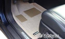 3D Custom Car Floor Mats   Product Characteristics: Custom Designed---Fully covered, beautiful, more safe, comfortable and easy to clean. Designed with High Borded---Avoid water, sand, mud, snow,salt polluting carpet ,always protect original carpet.   We