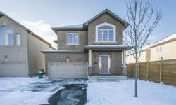 # Bath 3 MLS 1115664 # Bed 4 This spacious Claridge (Stockholm II) 4 bedroom single family home is only 2 years old. It offers a kitchen with an abundance of cupboards, a chef's pantry, granite counter tops and modern appliances. The main floor features