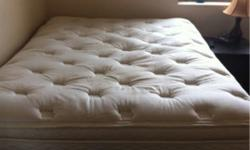 purchased last september for just over 1200. only 11 months old, great condition, complete mattress box spring and framefor sale for 400. very comfortable and very good condition. only selling because I am upgrading to a queen when I move. please contact.