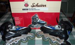 men's roller blades size 8 still in the box. Used once