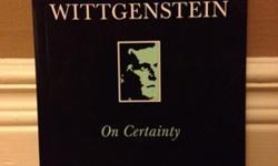 Ludwig WittgensteinMinor Marks (pen)ISBN: 0-631-16940-7