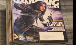Computer Gaming World Magazines (Years 2003-2006)I have most issues of these magazines if anyone is interested.Some of them are in near mint condition, the rest are fairly good.I have 32 Issues for sale. From March 2003 - February 2006. I am missing