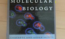 Cell and Molecular Biology: Concepts and Experiments Author: Gerald Karp Publisher: Wiley Pages: 864 ISBN: 0470042176 / 9780470042175 Edition: 5thBrand new Condition! no writing/highlighting, no rips/tears, binding intact, hardcover.