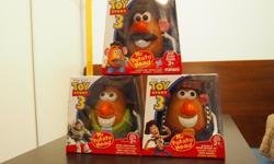 "Mr. Potato Head - Toy Story 3 Editionset of threeSize: 7""H"