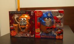 "Mr. Potato Head - Transformer Editionset of 2Size: 7""HNew in box"