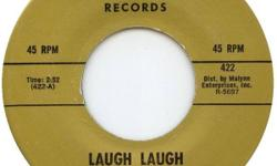 """Five singles: Beau Brummels: """"Laugh Laugh"""" The Kingsmen: """"Louie Louie""""/""""Money"""" The Music Explosion: """"Little Bit O' Soul"""" Sam The Sham/Pharoahs: """"Wooly Bully""""/""""Ring Dang Doo"""" The Vogues: """"You're The One""""/""""Five O'clock World"""" $7.00 in total. Check my"""