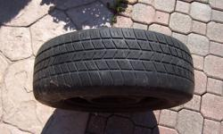 4 14in. GREAT WINTER RIMS COMES WITH TIRES 25% TREAD LEFT 5 BOLT 5X100 $80