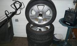 "4 16"" aluminum Rims off a 05 Ford Focus 4 Bolt. Tires are no good but rims are nice. $200 Call or Email me"