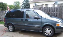2004 Chevrolet Venture for sale. Original owner. Low low kms. 7 Passenger with ability to remove all 5 back seats for more storage space when you need to haul a big load. 1 seat with integrated child seat for child 22-40lbsPower WindowsPower Door LocksCD