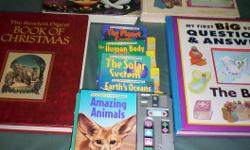All books are in good shape. Great books to read to your children bed time stories.